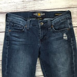 Lucky Brand Charlie Super Skinny Jeans